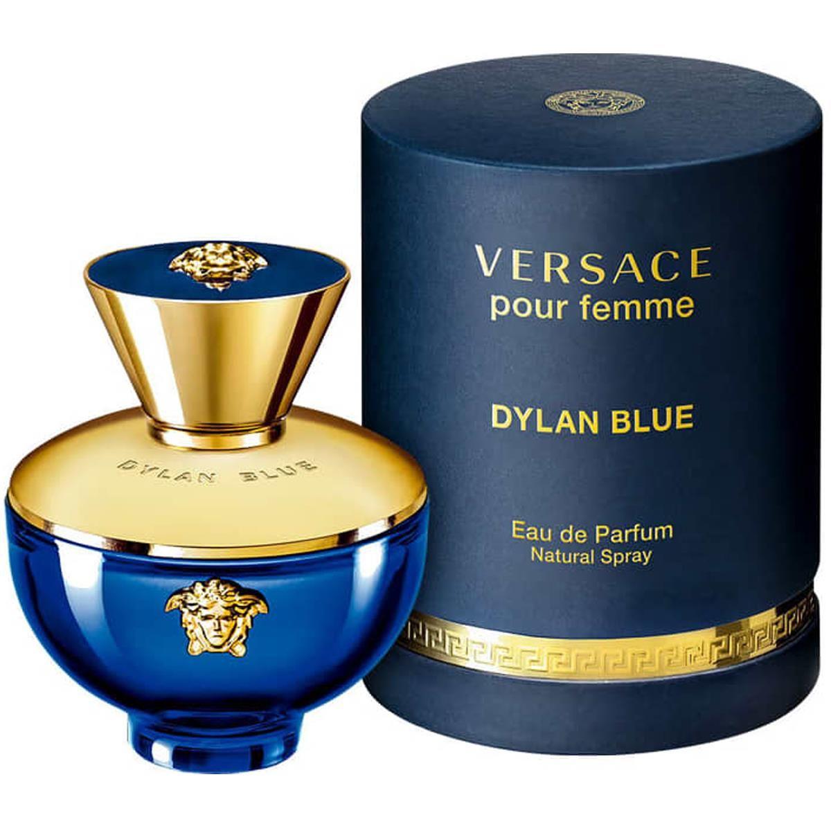 Dylan Blue Pour Femme Versace Eau de Parfum Perfume Feminino