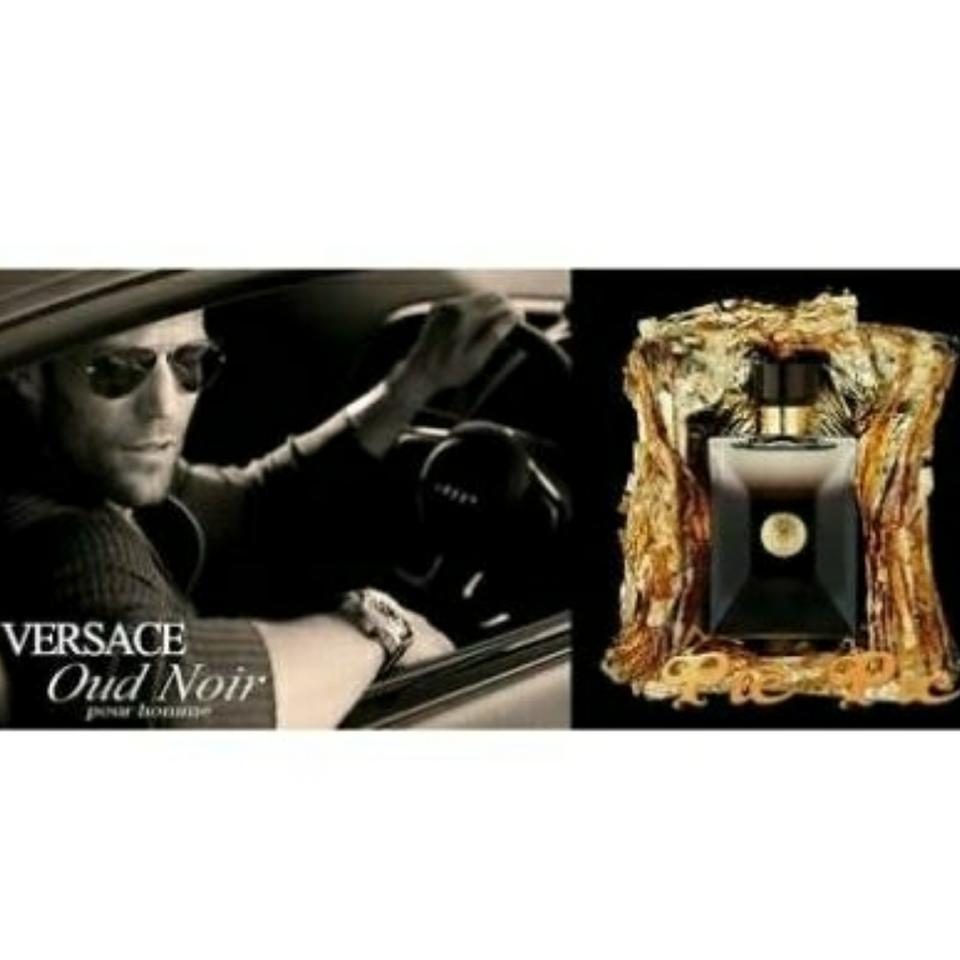 Pour Homme Oud Noir Versace Eau de Parfum Perfume Masculino