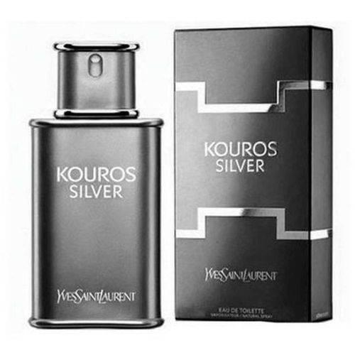 Yves Saint Laurent Kouros Silver Eau de Toilette Masculino