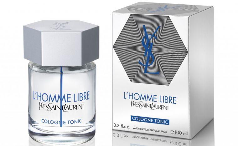 L Homme Libre Cologne Tonic Yves Saint Laurent Eau de Toilette Perfume Masculino
