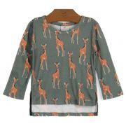 Blusa Manga Longa Girafinhas