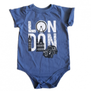 Body Camiseta London Bebê
