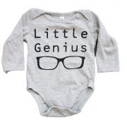 Body Little Genius Manga Longa Bebê