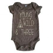Body YOUNG Marrom Bebê