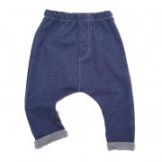 Calça Saruel Moletom Jeans