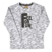 Camiseta Feel For Fun Manga Longa