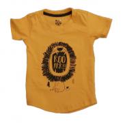 Camiseta Long LION Mostarda