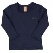 Camiseta Manga Longa Proteção UV Marinho