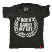 Camiseta Rock Saved My Life