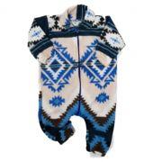 Macacão Soft Tribal Azul