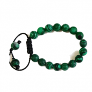 Pulseira Pedra Natural Verde