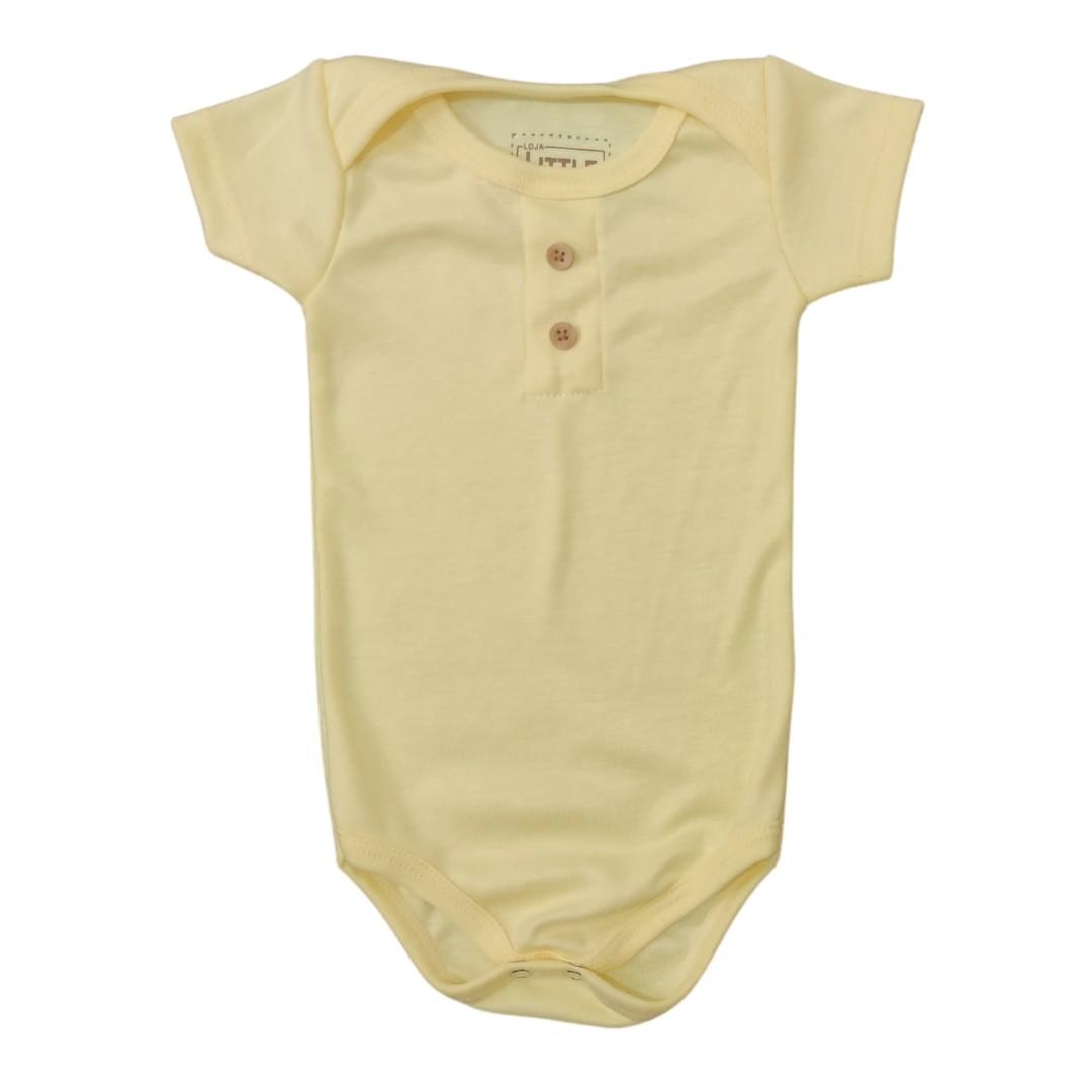 Body Amarelo Bebê