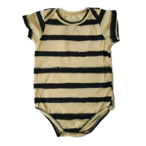 Body Basic Amarelo Bebê