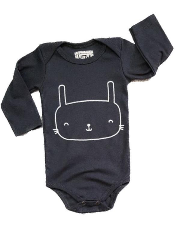 Body Bat Manga Longa Bebê