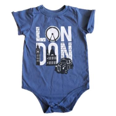 Body Camiseta London Bebê