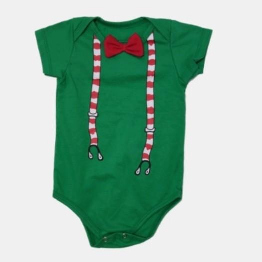 Body Candy Cane Verde Bebê