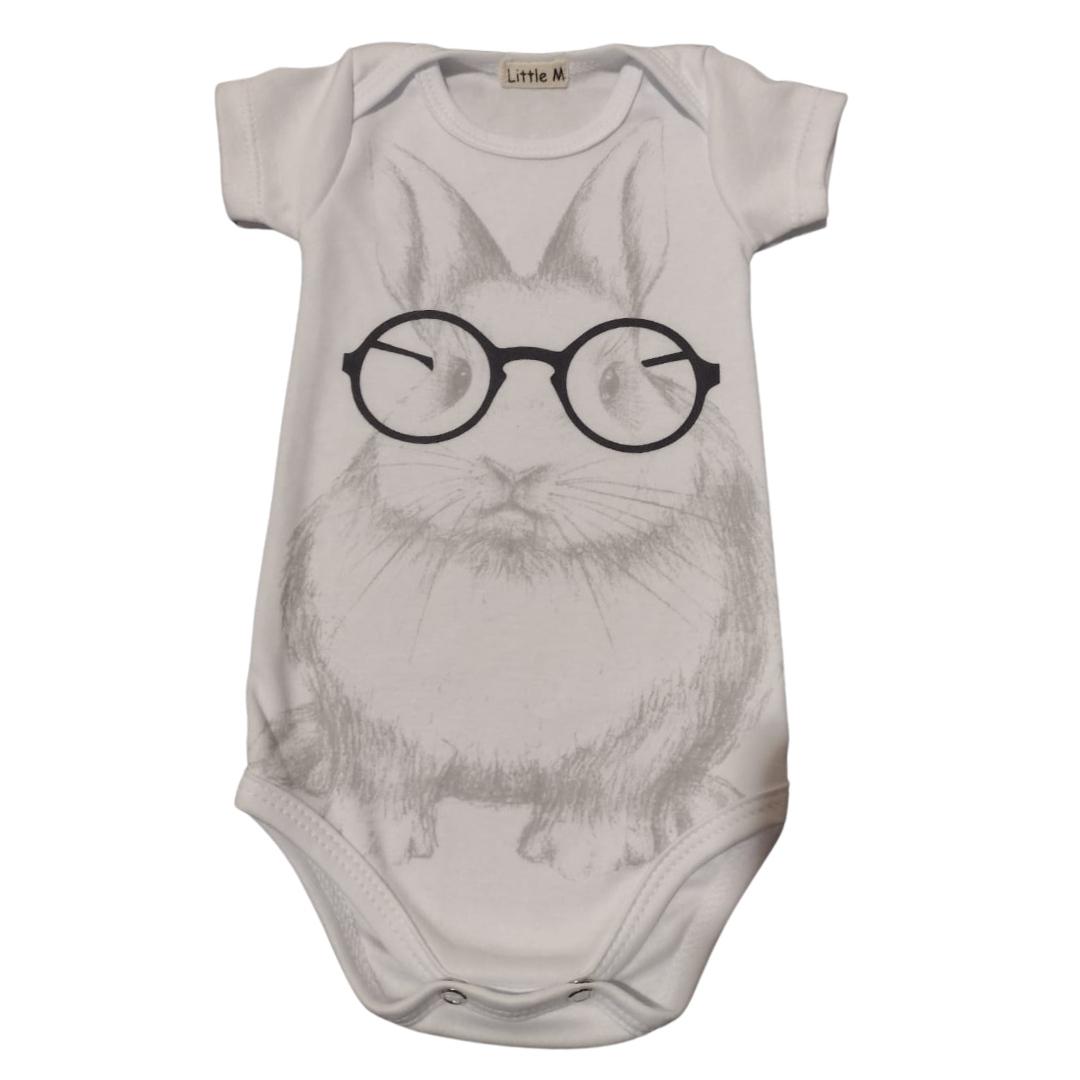 Body Coelho Geek Bebê