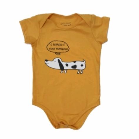 Body Dog Mostarda Bebê
