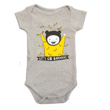 Body Let´s Go Bananas Bebê