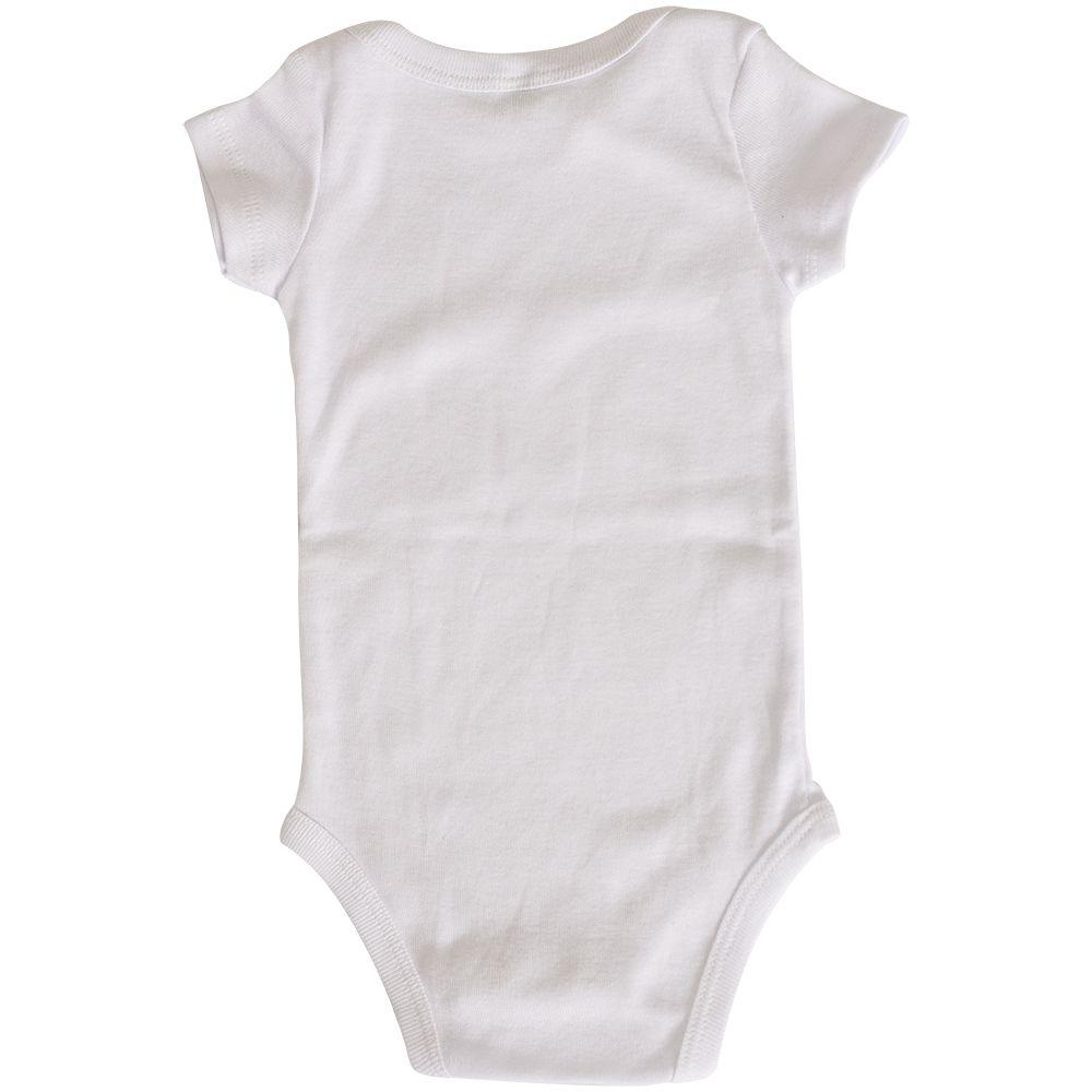 Body Liso Branco Bebê