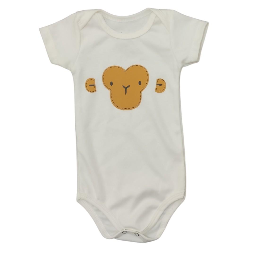 Body Macaco Bebê