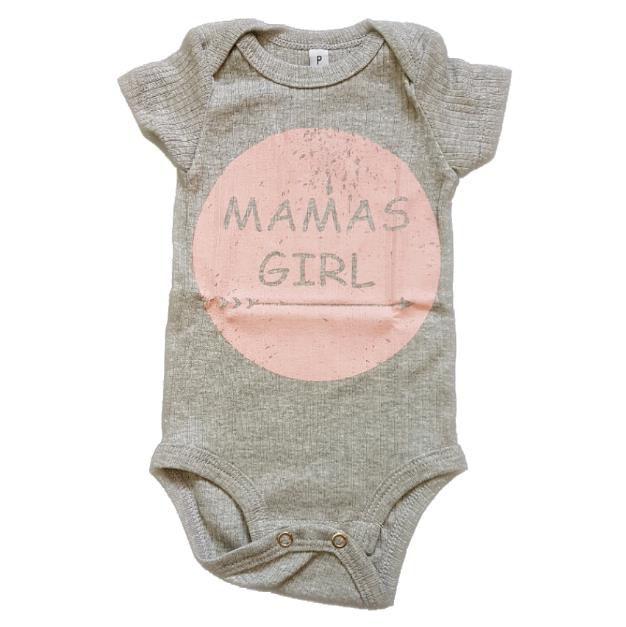 Body Mamas Girl Mescla Bebê