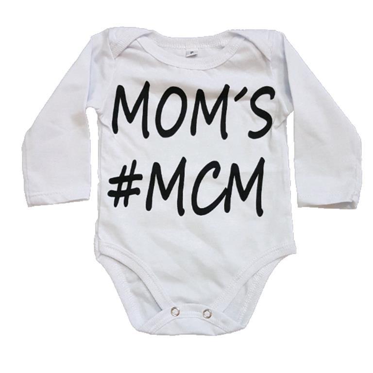 Body MOM'S #MCM Manga Longa Bebê