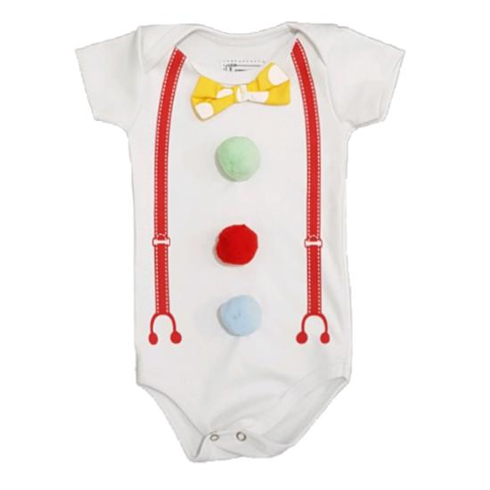 Body Pierrot Colors Bebê