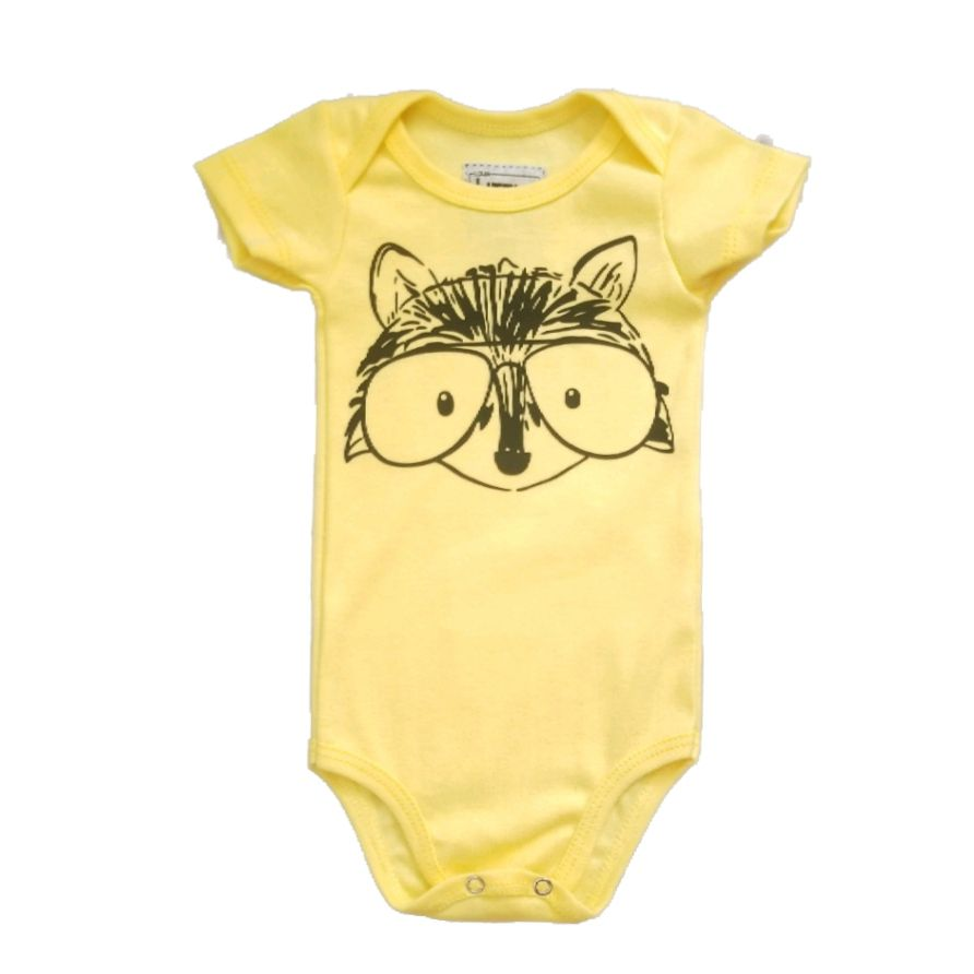Body Raposa Geek Bebê
