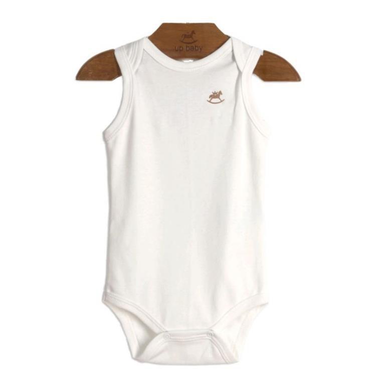 Body Regata Branco Bebê