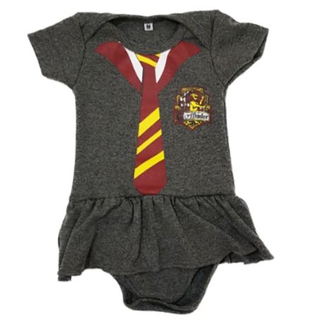 Body Saia Harry Potter Bebê