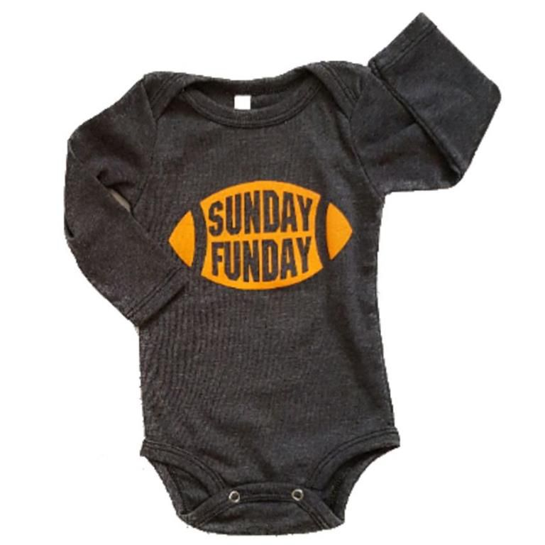 Body Sunday Manga Longa Bebê