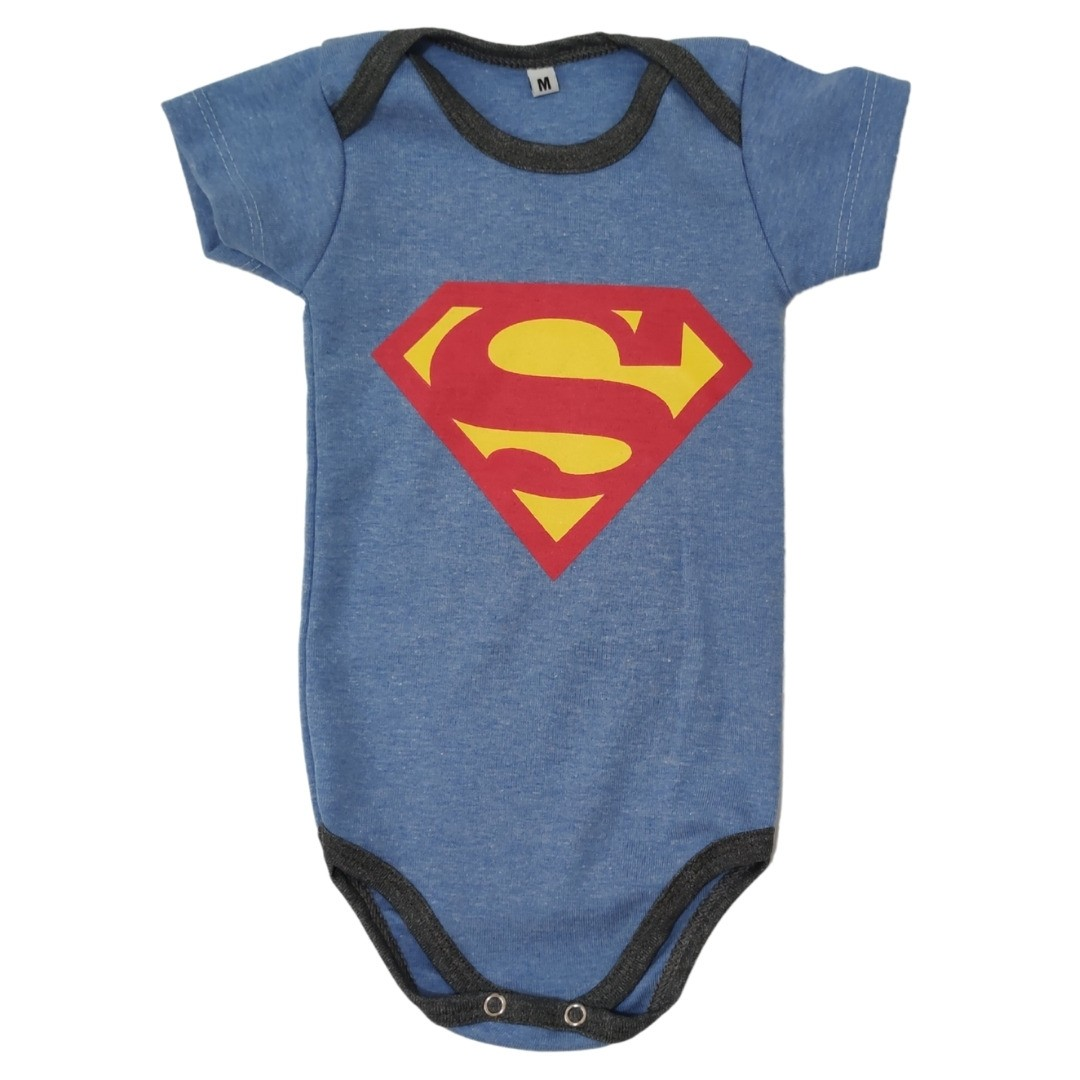 Body SuperMan Bebê