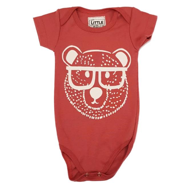 Body Urso Geek Bebê