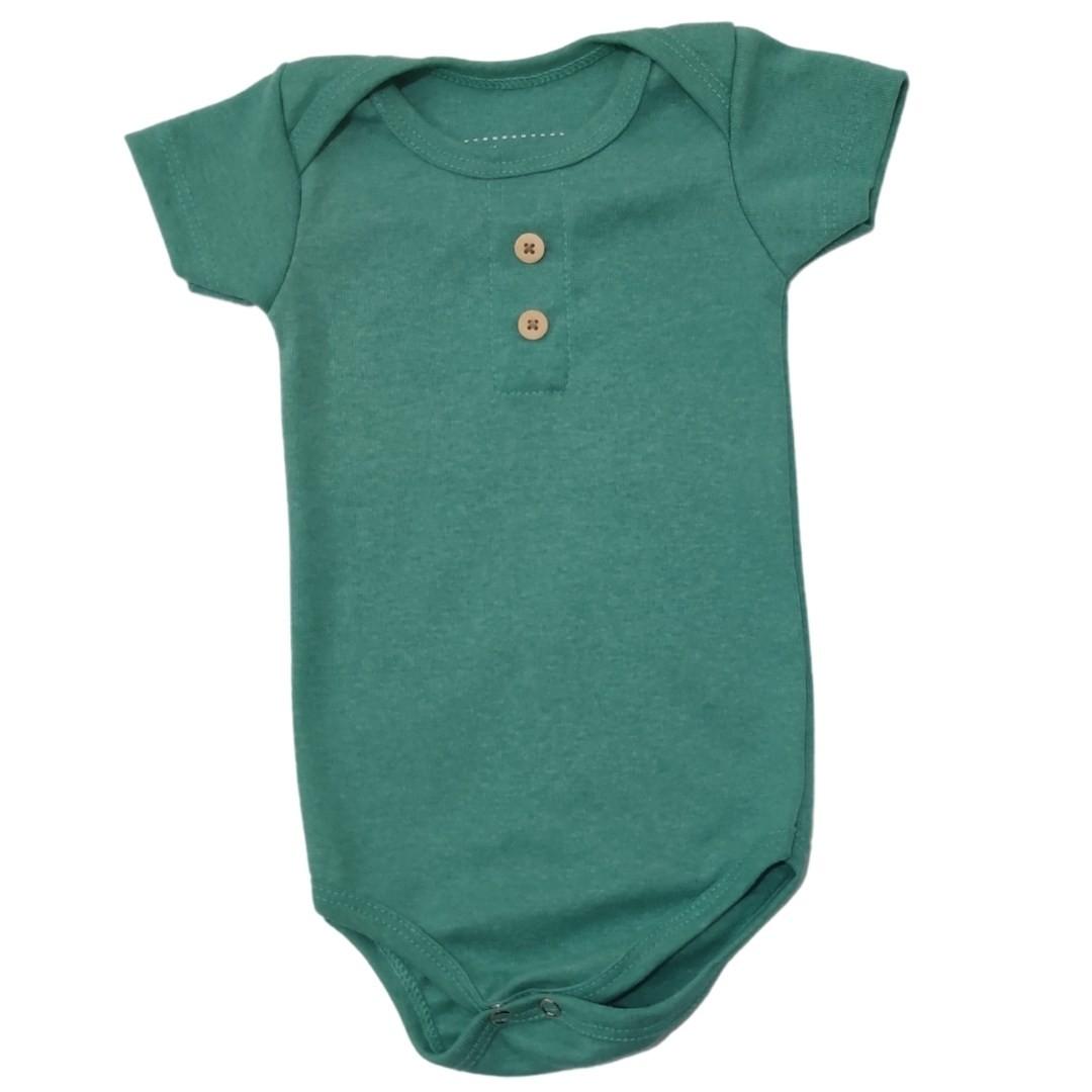 Body Verde Bebê