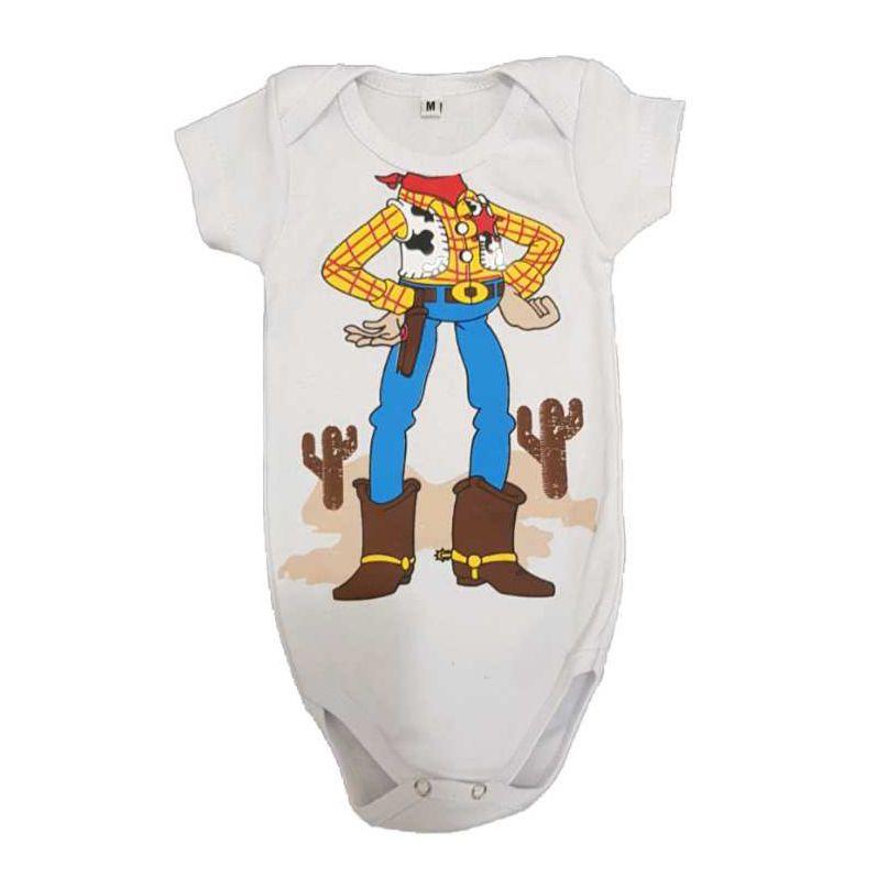 Body Xerife Woody Bebê