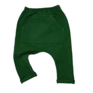 Calça Bolso Canguru Verde