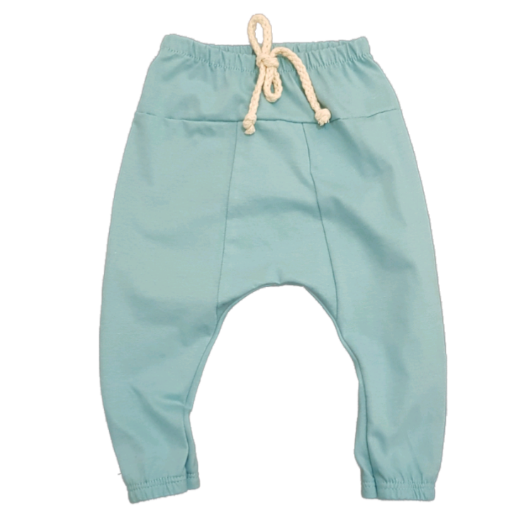 Calça Saruel Básica Candy Color Blue