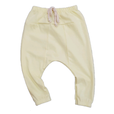 Calça Saruel Básica Candy Color Yellow