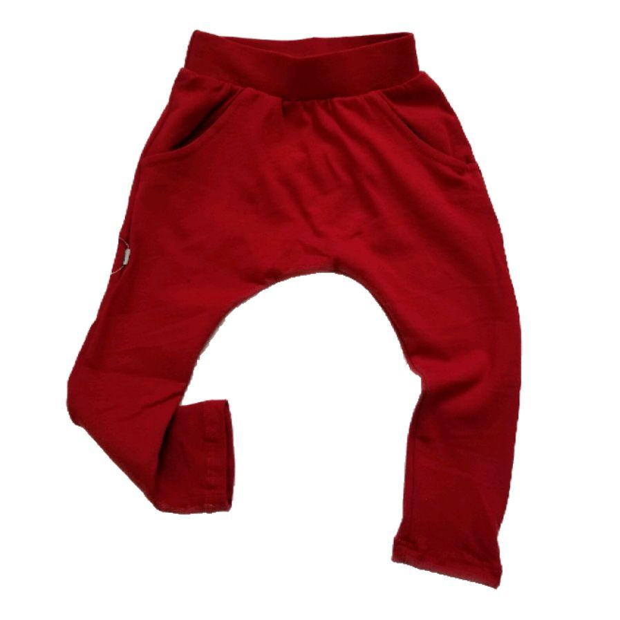 Calça Saruel Básica Vermelha