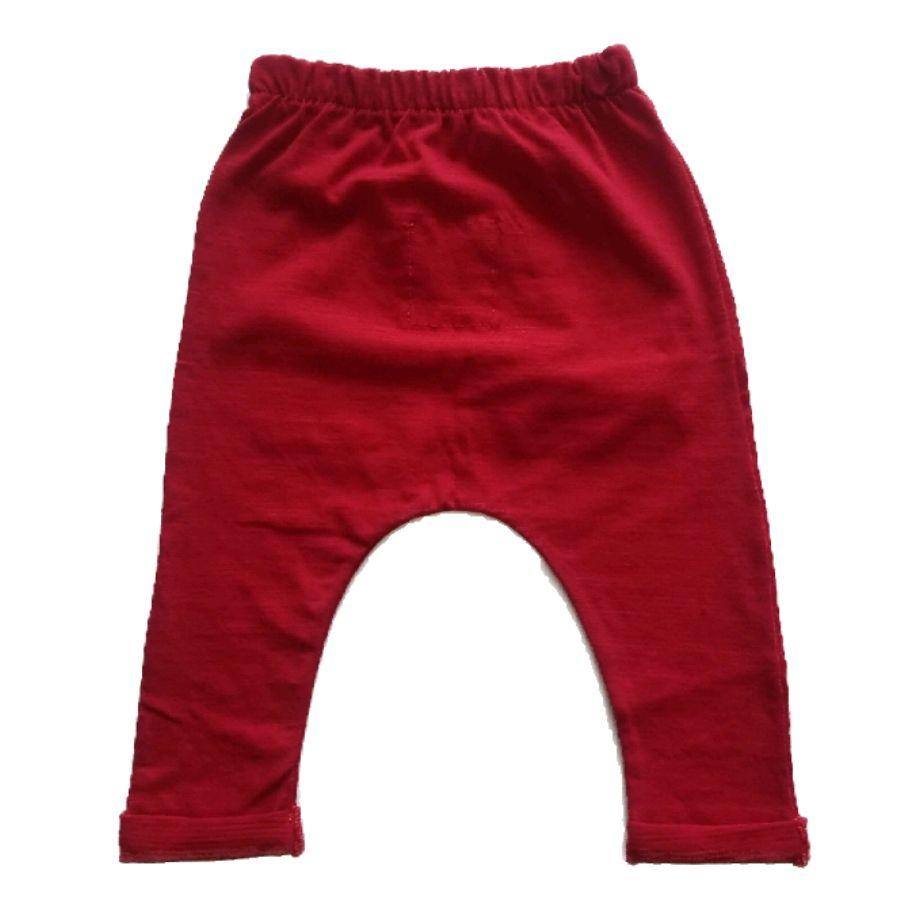 Calça Saruel Bolso Canguru Vermelha