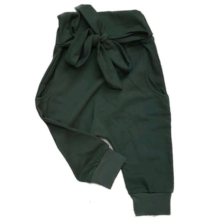 Calça Saruel Laço Verde Militar