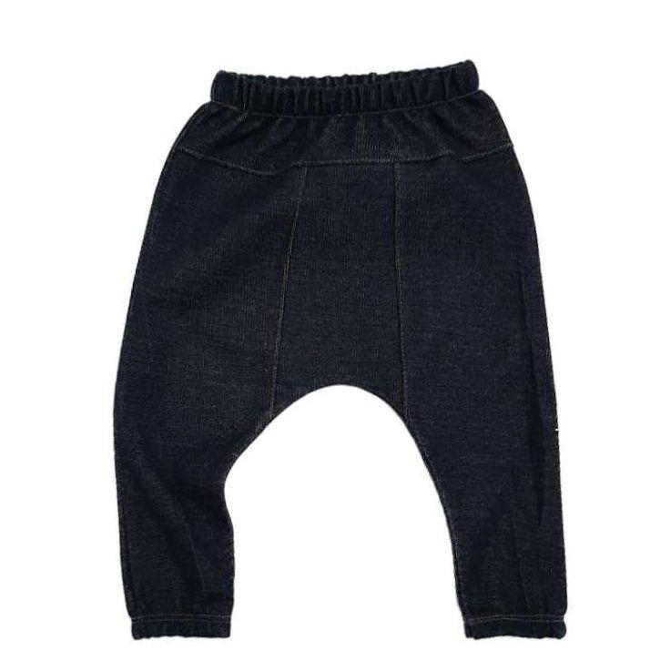 Calça Saruel Moletinho Jeans