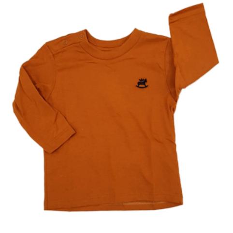 Camiseta Basic Mostarda Manga longa