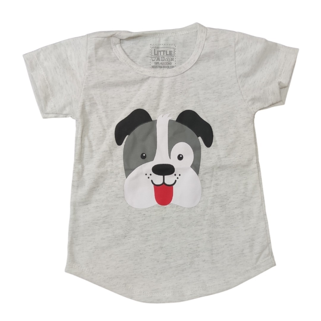 Camiseta Dog Mescla