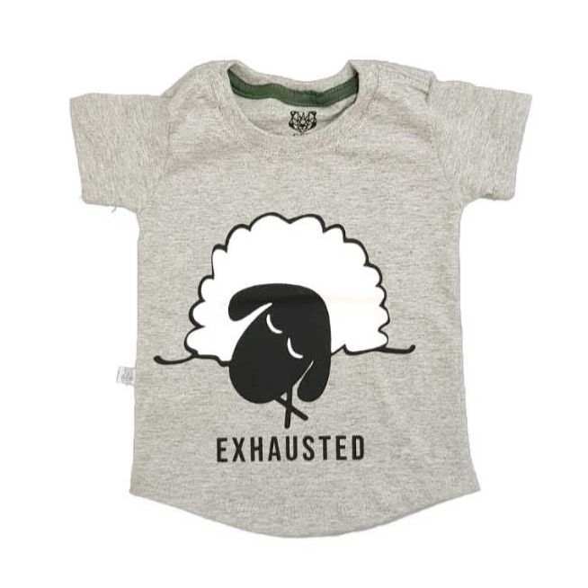 Camiseta Long EXHAUSTED