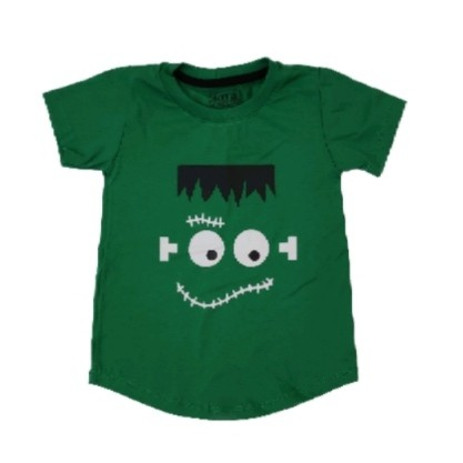 Camiseta Long Frankenstein