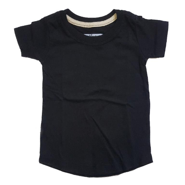 Camiseta Long Preta Básica