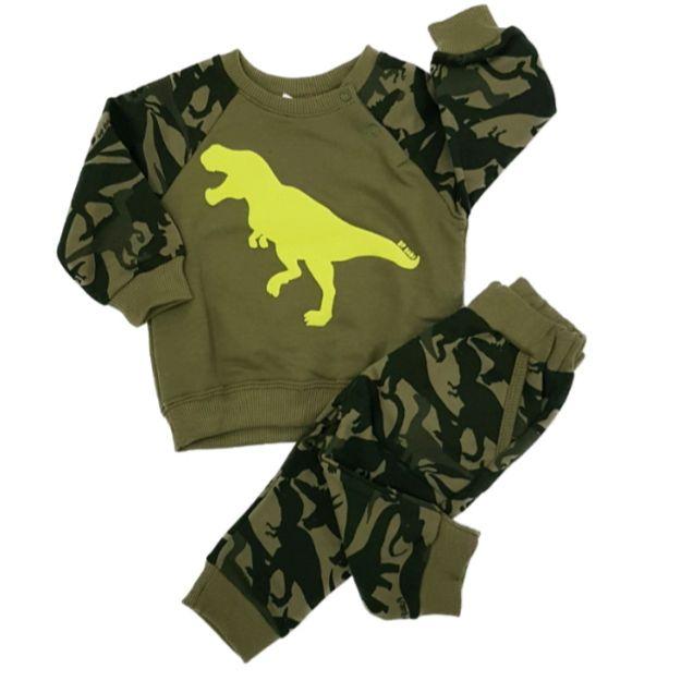 Conjunto Moletom Dino Rex