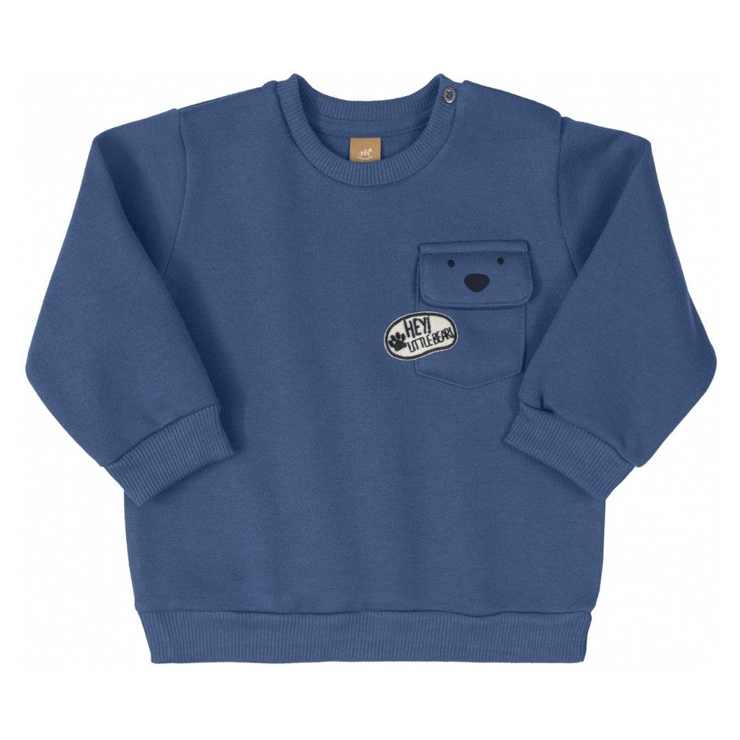 Conjunto Polar Azul
